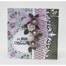 Joy!Crafts / Jeanine´s Art, Hobby Solutions Dies /  découpe et gaufrage modèle: bordure en dentelle
