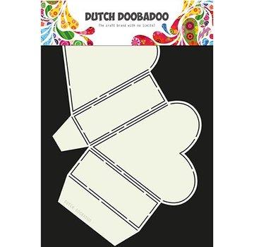 Dutch DooBaDoo Kunstmal til udformning af hjertekasser