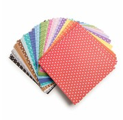Karten und Scrapbooking Papier, Papier blöcke Core 'dinamiche, set di carta, 15,50 x 15,50 cm, 90 fogli!