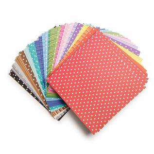DESIGNER BLÖCKE / DESIGNER PAPER Core 'dinations, conjunto de papel, 15,50 x 15,50 cm, 90 folhas!