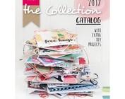 Katalog 2017 af Marianne Design, mange eksempler med stenciler og frimærker!