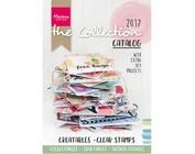 Katalog 2017 von Marianne Design, viele  Beispiele mit Schablonen und Stempel!