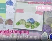 Voir une démonstration dans cette vidéo avec Layered Stamp par Tiny Harts par Marianne Design!