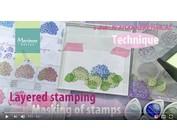 Guarda una dimostrazione in questo video con Layered Stamp di Tiny Harts di Marianne Design!
