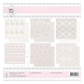 Designer Papier Scrapbooking: 30,5 x 30,5 cm Papier Bloc de papier, 30,5 x 30,5 cm, 240 gr