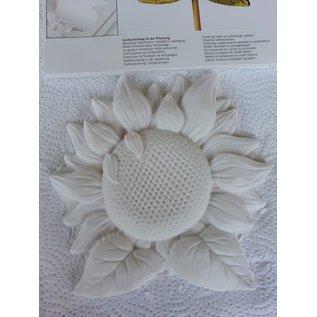 Modellieren Casting: girasole, 18 cm con istruzioni di colata nella confezione