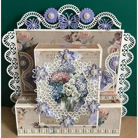 Joy!Crafts / Jeanine´s Art, Hobby Solutions Dies /  Troquel de corte y estampado: marco de flor