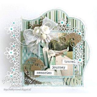 Joy!Crafts / Jeanine´s Art, Hobby Solutions Dies /  Stanzschablonen: Filigrane Blumen Zierrahmen