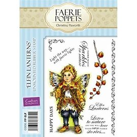 Crafter's Companion Rubber stamp, angel