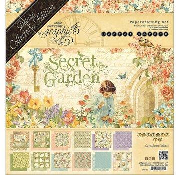 GRAPHIC 45 Graphic 45 Secret Garden 12x12 Inch Complete, Deluxe Collectors Editon