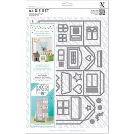 Docrafts / X-Cut cutting and embossing template: Deco Design House