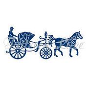 Tattered Lace Skæring og prægning skabelon: Vintage Carriage