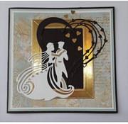 Tattered Lace Stanz- und Prägeschablone:  tanzendes Hochzeitspaar