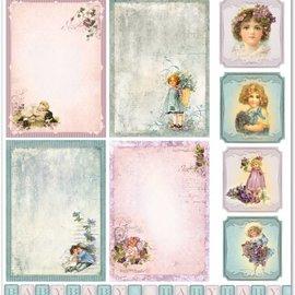 """LaBlanche LaBlanche Design Paper """"Children / Baby 5"""" nostalgi Pure!"""