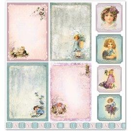 """LaBlanche LaBlanche Design Paper """"Nostalgia de los niños / bebés 5"""" ¡Puro!"""