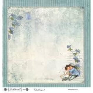 "Designer Papier Scrapbooking: 30,5 x 30,5 cm Papier Designpapir ""Kinder 5"""
