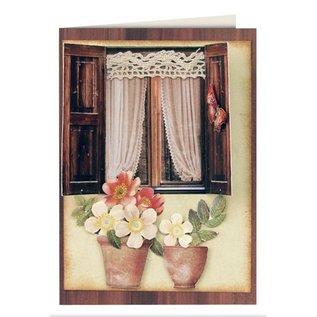 Embellishments / Verzierungen Stanzbogen Garten mit Accessoires aus Kartenkarton, Format A4