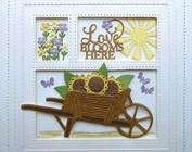 Idéias criativas e artigos de artesanato sobre o tema do jardim, café da manhã, verão e feriados!