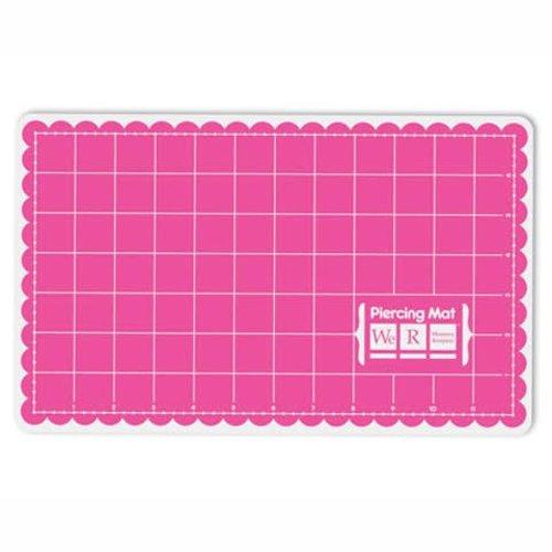 """BASTELZUBEHÖR, WERKZEUG UND AUFBEWAHRUNG Sew Easy Piercing Mat Pink,  34 x 20 cm ( 7"""" x 12"""" Inch)"""