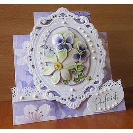 Marianne Design Cutting and embossing template: Passe partouts / ovals