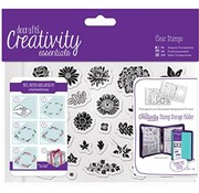 Docrafts / Papermania / Urban Transparent / Clear Stempel, A5
