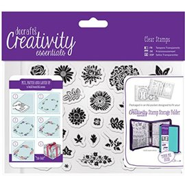 Docrafts / Papermania / Urban Timbre transparent / clair, A5