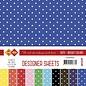 Karten und Scrapbooking Papier, Papier blöcke Designer-Blätter Mega-Set!