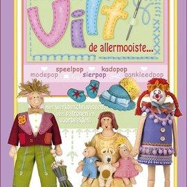 Bücher, Zeitschriften und CD / Magazines Marij Rahder Felt Dollbook