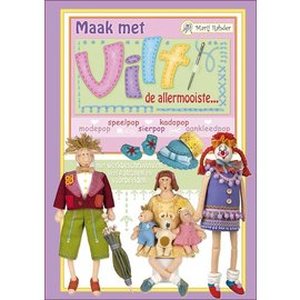 Bücher und CD / Magazines Marij Rahder Felt Dollbook