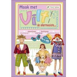 Bücher, Zeitschriften und CD / Magazines Marij Rahder Filz-Puppen buch