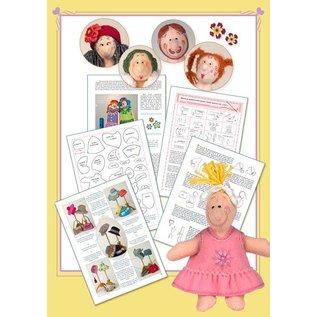Bücher, Zeitschriften und CD / Magazines Marij Rahder Vilten Poppenboek