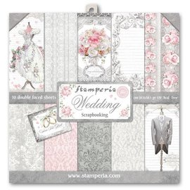 Stamperia NEU! Stamperia: Scrapbooking Paperblock,  Wedding