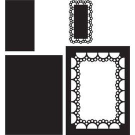 Marianne Design Gabarit de découpe et gaufrage: Passe-partout