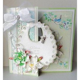Marianne Design Marianne Design, Stanzschablone: Bavaglino neonato - ULTIMO stock!