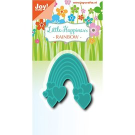 Joy!Crafts / Jeanine´s Art, Hobby Solutions Dies /  Joy!Crafts, cutting and embossing template: Rainbow