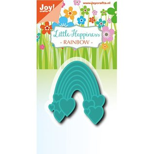 Joy!Crafts / Jeanine´s Art, Hobby Solutions Dies /  Joy!Crafts, Snij  en embossing sjabloon: Rainbow