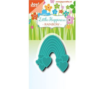 Joy!Crafts / Jeanine´s Art, Hobby Solutions Dies /  Joy!Crafts, Stanz- und Prägeschablone: Regenbogen