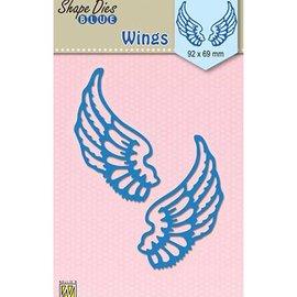 Nellie Snellen Stanzschablone: Flügel