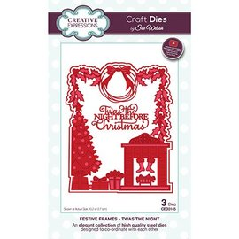 CREATIVE EXPRESSIONS und COUTURE CREATIONS Cutting and embossing template