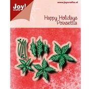 Joy!Crafts / Jeanine´s Art, Hobby Solutions Dies /  Glæde! Håndværk, skæring og prægning skabelon: Poinsettia