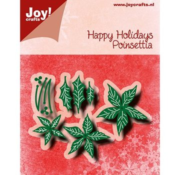 Joy!Crafts / Jeanine´s Art, Hobby Solutions Dies /  Joy!Crafts, cutting and embossing template: Poinsettia
