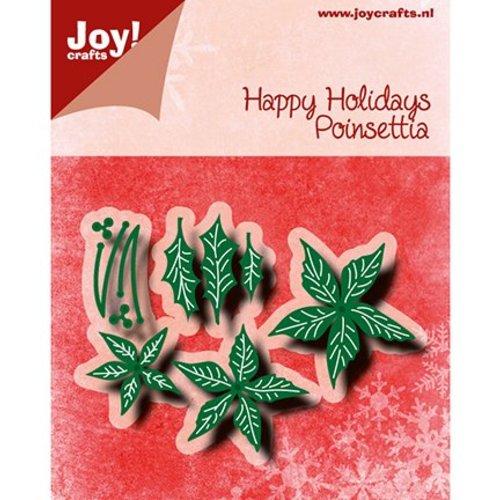 Joy!Crafts / Jeanine´s Art, Hobby Solutions Dies /  Joy!Crafts, Snij  en embossing sjabloon:  Poinsettia