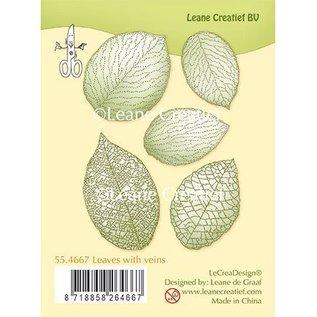 Leane Creatief - Lea'bilities und By Lene Transparante stempel, bladeren