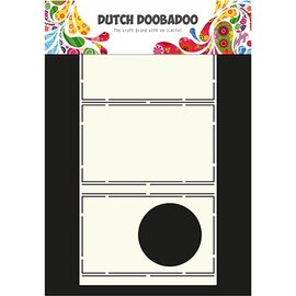 Dutch DooBaDoo A4 Plastik Schablone: Card Art cirkel Pop Up