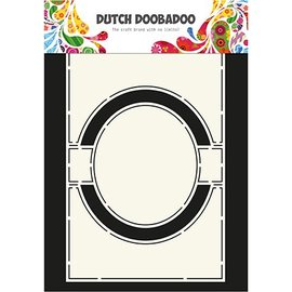Dutch DooBaDoo A4 plastic sjabloon: Card Art Circle