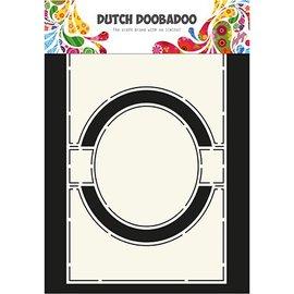 Dutch DooBaDoo Modello di plastica A4: Card Art Circle