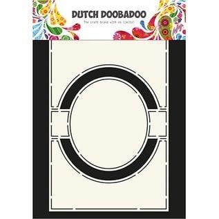 Dutch DooBaDoo A4 plastic sjabloon: Card Art Circle