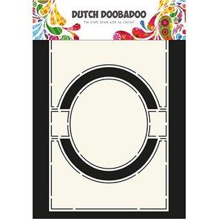Dutch DooBaDoo Modelo de plástico A4: Cartão Art Circle