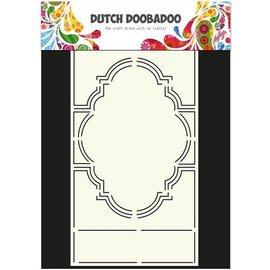 Dutch DooBaDoo A4 plastic template: Swing Card Romance