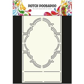 Dutch DooBaDoo A4 Plastik Schablone: Swing Card Romance